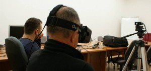 Our first VR experiment
