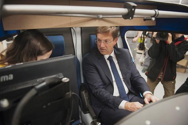 Primer Minister Mr. Miro Cerar in the X-ALPHA