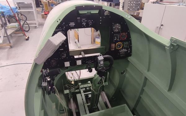 Cockpit in progress