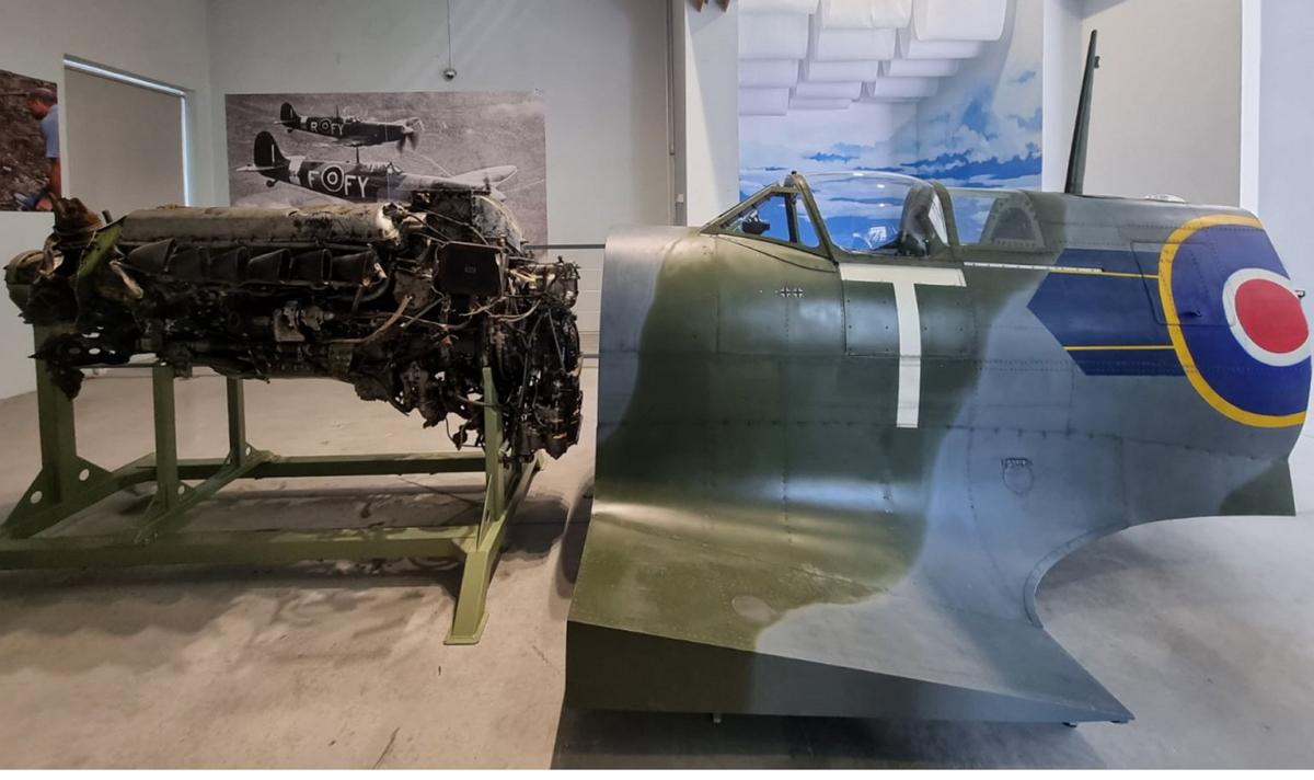 Supermarine Spitfire simulator