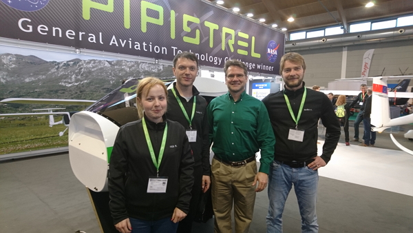 Mark Moore after the X-ALPHA demo flight with AFormX team